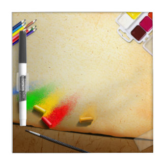 Artist Themed Painter's Custom Dry Erase Board