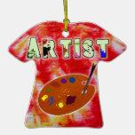 Artist Tie Dye Ornament