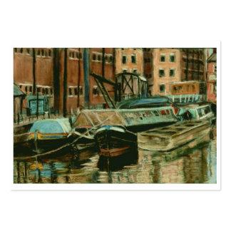 Artist Trading Card, Gloucester Docks Large Business Card
