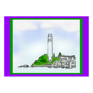 Artist Trading Cards Telegraph Hill Art 2010 ATC Large Business Cards (Pack Of 100)