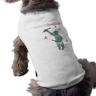 Artist trained monkey strange raw ousiter ugly art shirt