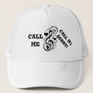 Artist willing to work,Call my agent!_ Trucker Hat