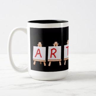 Artist word mug