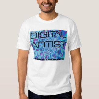 Artista azul de Jaguar Digital Remera