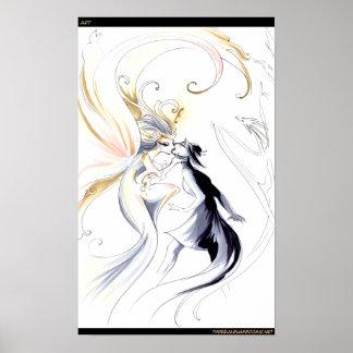 Artista como diosa poster