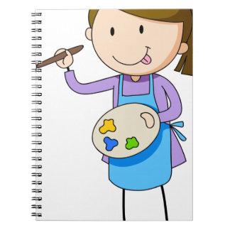 Artista Spiral Notebook