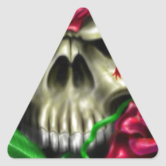 Artista de encargo de la original del aerógrafo de pegatina triangular