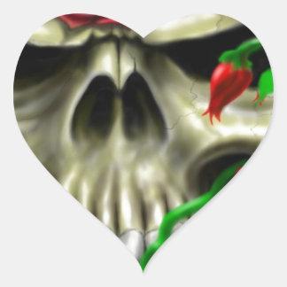 Artista de encargo de la original del aerógrafo de pegatina en forma de corazón
