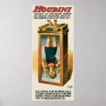 Artista de escape del vintage del ilusionista del  posters