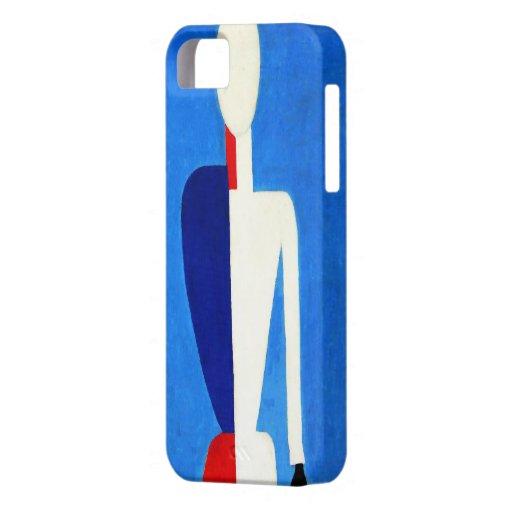 "Artista de Kazimir Malevich ""del torso""/ iPhone 5 Cárcasa"