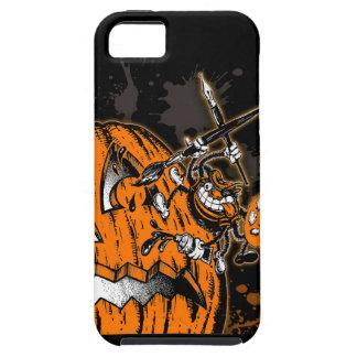Artista de la araña de la calabaza de Halloween iPhone 5 Carcasa