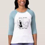 Artista de la diva (aleta) camisetas