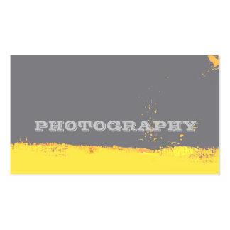 Artista de la fotografía plantilla de tarjeta de visita