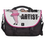 Artista de las estafas (de los vagos) bolsas para portátil