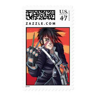 Artista de Manga del animado Timbre Postal
