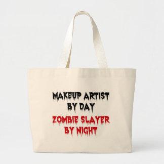 Artista de maquillaje del asesino del zombi del dí bolsas de mano