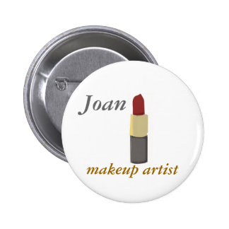 Artista de maquillaje del salón pins