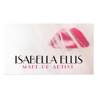 Artista de maquillaje elegante/tarjeta de visita tarjetas de visita