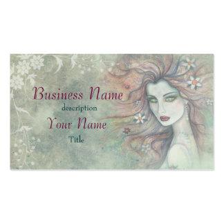 Artista de maquillaje elegante y único del tarjetas de visita