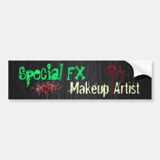Artista de maquillaje especial de FX Pegatina Para Auto