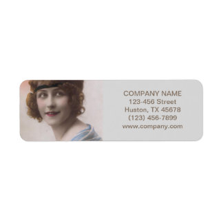 artista de maquillaje gatsby del salón de pelo de etiqueta de remite