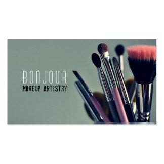 Artista de maquillaje salón belleza Cosmetologi