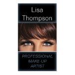 Artista de maquillaje/tarjeta de visita profesiona