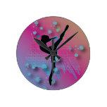 Artista del baile reloj