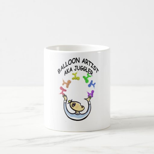 Artista del globo del juglar AKA Taza De Café