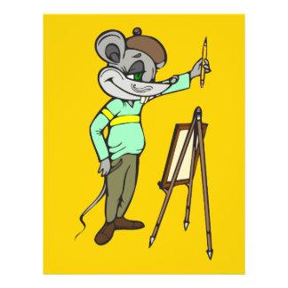 "Artista del ratón folleto 8.5"" x 11"""