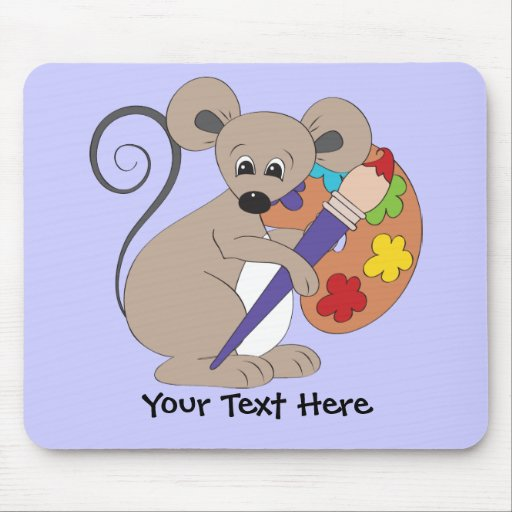 Artista del ratón (personalizado) alfombrilla de ratón