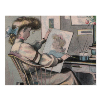 Artista del Victorian Postales