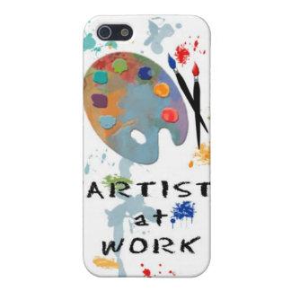 Artista en el trabajo iPhone 5 carcasas
