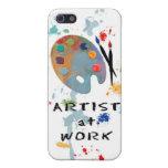 Artista en el trabajo iPhone 5 protector