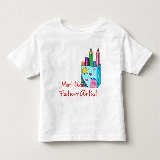 Artista futuro camisas