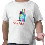 Artista futuro camisetas