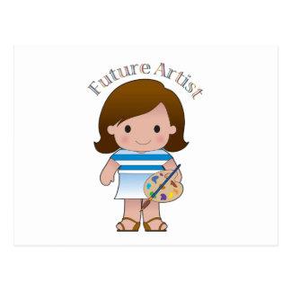 Artista futuro postal