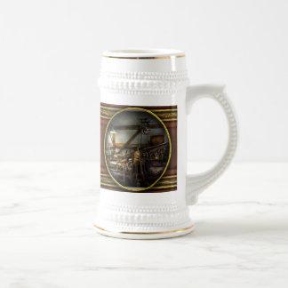 Artista gráfico - prensa principal jarra de cerveza