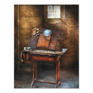 Artista - la tabla de la aguafuerte comunicado personalizado