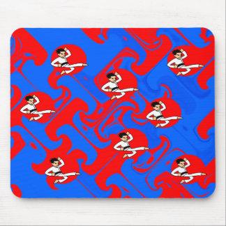 Artista marcial Mousepad de la dinamita Alfombrillas De Ratones