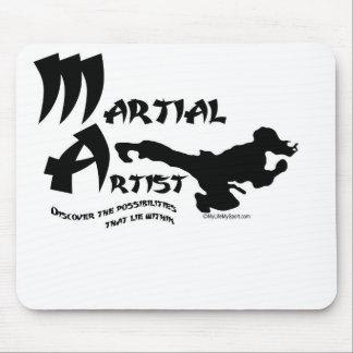 Artista marcial alfombrillas de raton