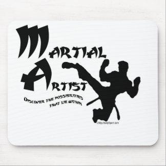 Artista marcial tapetes de ratones