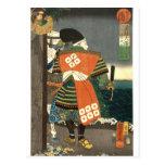 Artista principal japonés del 歌川国芳 de Utagawa Kuni Tarjeta Postal