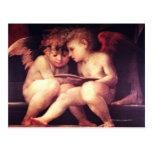 Artista:  Rosso Fiorentino, siglo XVI Tarjeta Postal