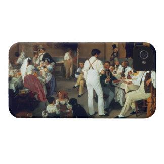 Artistas daneses en el la Gonsola, Roma, 18 de Carcasa Para iPhone 4 De Case-Mate