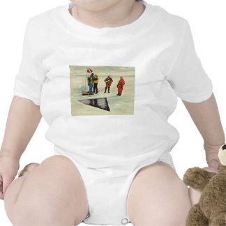Artistas de Obama para América que apoya el colmil Trajes De Bebé
