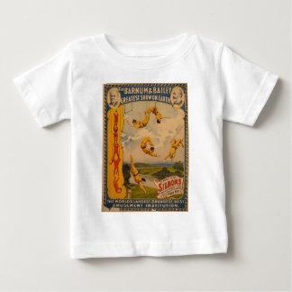 Artistas de trapecio Barnum y Bailey 1896 Tee Shirt
