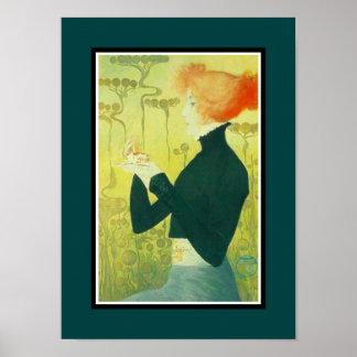 Artistas famosos Sarah Bernhardt del poster del vi