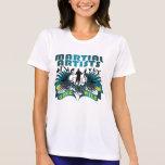 Artistas marciales idos salvajes camisetas