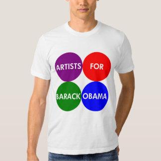 Artistas para la camiseta 2012 de Obama Camisas